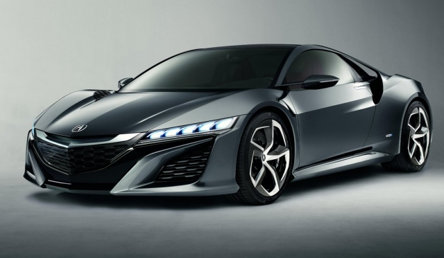 2015 Acura NSX from Honda