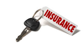 car insurance on a key tab